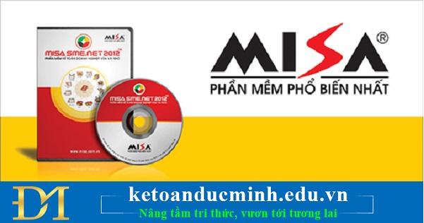 Phần mềm tiên phong: MISA