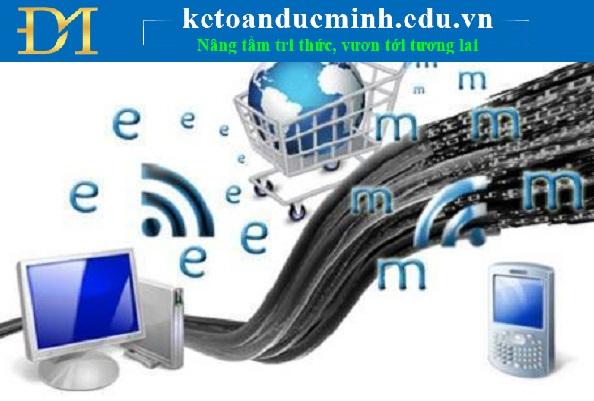 Tăng cường hoạt động xuất nhập khẩu trực tuyến trong năm 2017