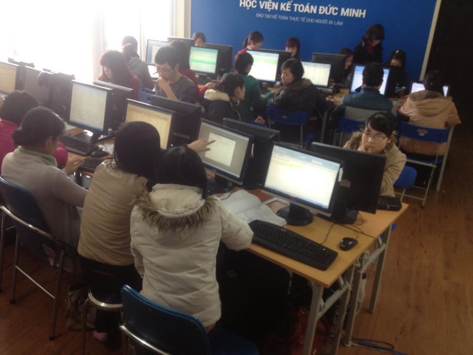Học nghiệp vụ kế toán doanh nghiệp tại Hà Nội