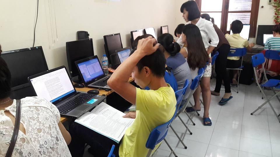 lớp học báo cáo thuế tại hà nội cho người đi làm