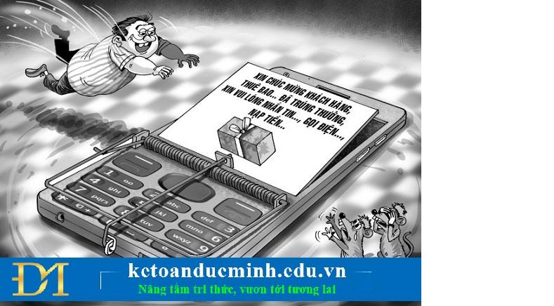 lừa đảo qua mạng dưới nhiều hình thức khác nhau qua các trang web giả mạo hay thư điện tử giả danh