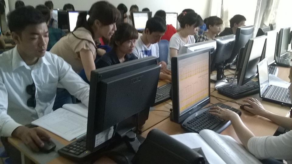 lớp học kế toán tại long biên
