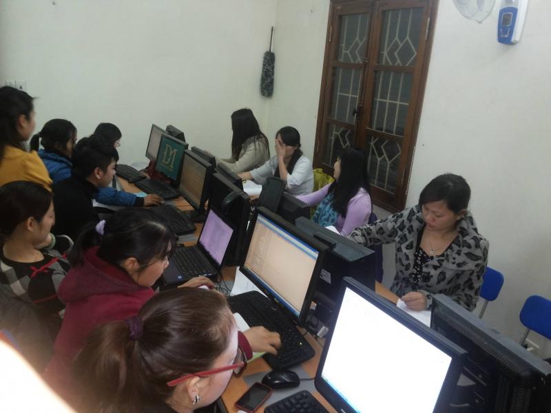 Lớp học phần mềm kế toán fast thực hành tại hà nội